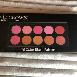 Crown 10 Color Blush Palette